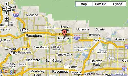 Irwindale California Map.Hours Admission The Arboretum
