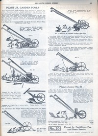 Aggeler & Musser 1920 catalog plant junior tools
