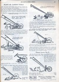 Aggeler & Musser 1920 catalog plant junior tools