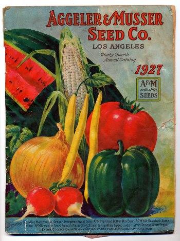 Aggeler & Musser 1927 catalog cover