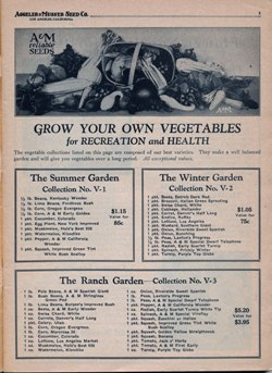 "Aggeler & Musser 1937 catalog ""Grow Your  Own"""