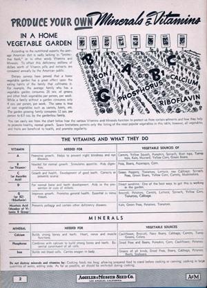 "Aggeler & Musser 1943 catalog ""Minerals & Vitamins"""