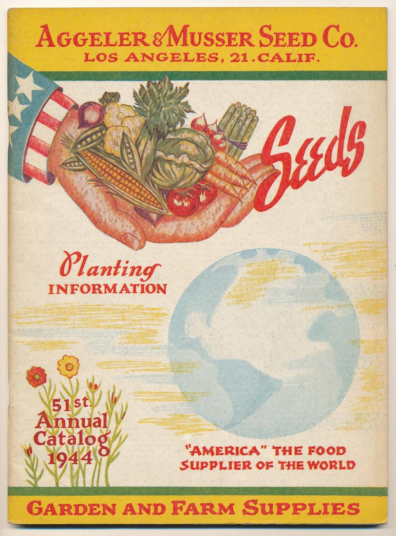 Aggeler & Musser 1944 catalog cover