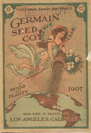 Germain Seed Company 1907 catalog cover