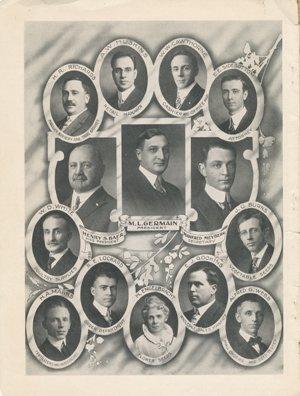 "Germain's Seed Company 1915 catalog ""Staff"""