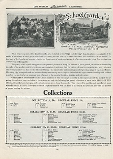 Germain's Seed Company 1915 school garden