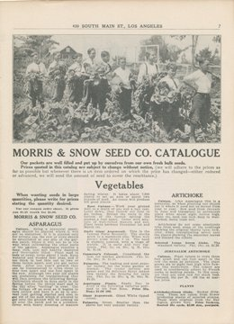 Morris & Snow Seed Company 1923 catalog p. 7